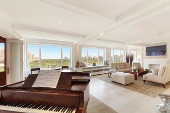 One of a kind 4500sf Penthouse with almost 100ft of frontage on Central Park