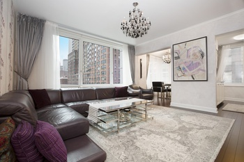 FREE GETAWAY TRIP for YOU! Fully Furnished 2 BD 2.5 BA @ The Rushmore, UWS